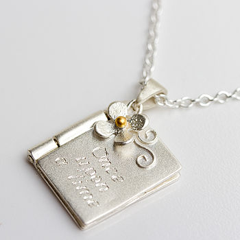 Personalised Christening Or Child's Locket