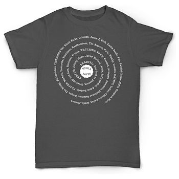 Personalised 'Loves' Spiral T Shirt