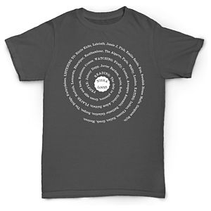 Personalised 'Loves' Spiral T Shirt - t-shirts & vests