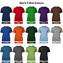 Mens Garment Colours
