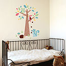 Forest Friends with Boy's Forest Wall Stickers