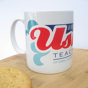 Personalised Athletic Ceramic Mug