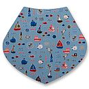 Around The Harbour Dribble Bib For Baby