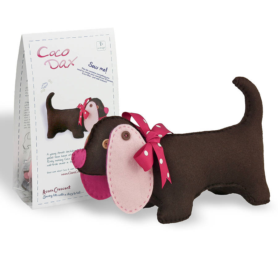 Coco Dax Dog Felt Sewing Kit