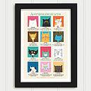 Cat Astrology Personalised Print