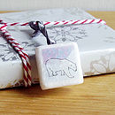Arctic Themed Marble Gift Wrap Accessories