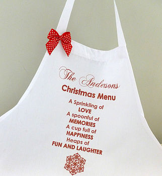 Christmas Personalised Apron
