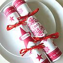 Christmas Personalised Crackers