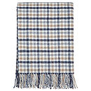 Multi Check Wool Throw