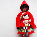 Red Riding Hood Velvet Cape