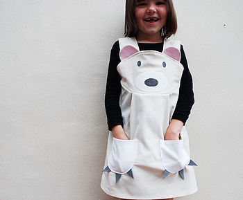 Girls Polar Bear Dress Up