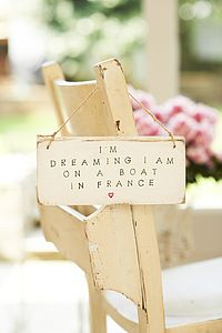 I AM DREAMING I AM ON A BOAT - art & decorations