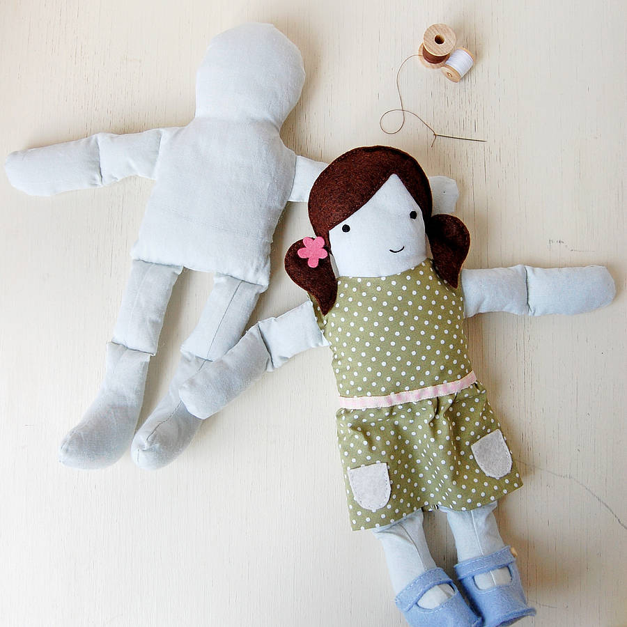 How to make a doll from a sock