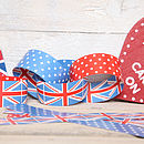 British Celebration Paper Chains And Heart