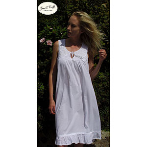 Nora Rose Cotton Nightdress - lingerie & nightwear