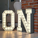 Circus Letter Lights
