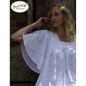 Valentina Cotton Nightdress - lingerie & nightwear
