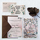 Hazy Woodland Stationery Set