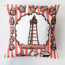 Blackpool Cushion