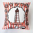 Blackpool Cushion