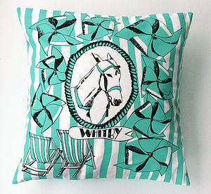 Whitby Cushion - living room