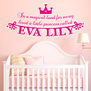 Little Princess Wall Sticker