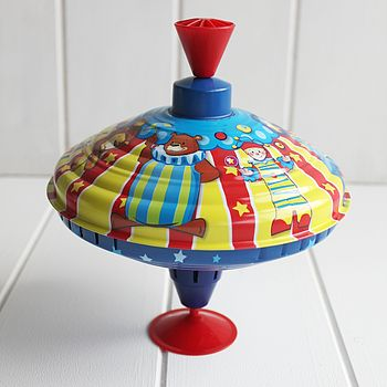 Traditional Circus Spinning Top