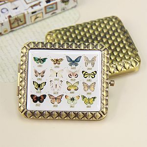 Granny's Attic Butterflies Compact Mirror - gifts for her