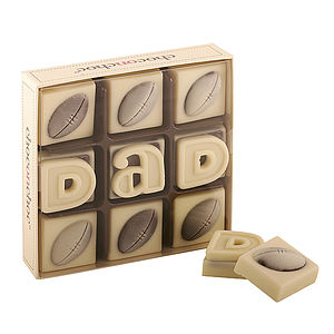 'Dad' Rugby Ball Chocolates - parties