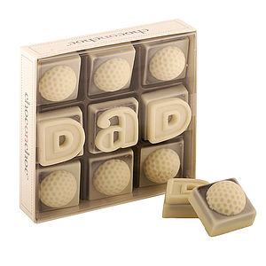 'Dad' Golf Ball Chocolates - parties
