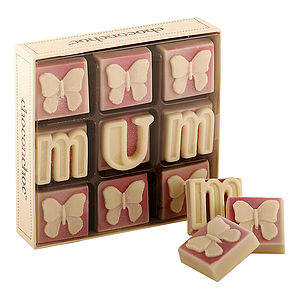 'Mum' With Butterflies Chocolates - for mothers