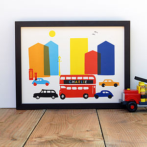 Personalised London Art Print