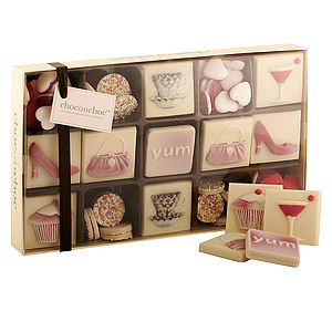 Chocolate Girly Box - view all mother's day gifts