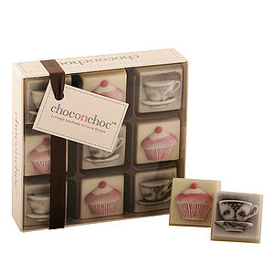 Chocolate Tea Cups and Cakes - food & drink gifts
