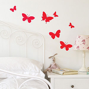 Butterfly Set Wall Stickers