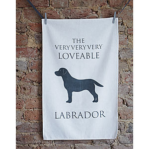 Labrador Tea Towel - tea towels