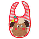 Sheila The Sheep Bib
