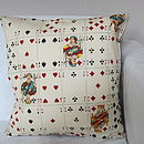 Playing Cards Cushion Cover