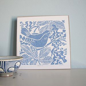 Blackbird Print - shop by price