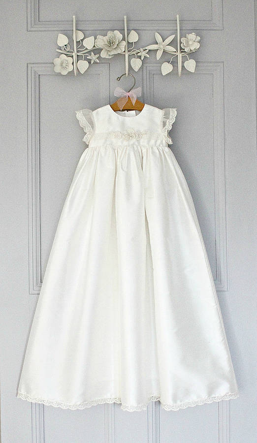 Christening Gown Sophia By Adore Baby Notonthehighstreetcom