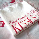 Salted Caramel Kisses Tea Towel