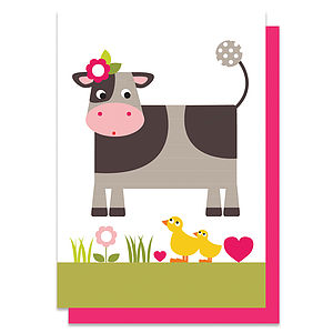 Collette The Cow Card