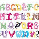 Animal Alphabet Bauble