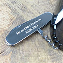 Personalised Waiter's Friend Silver Corkscrew