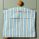 Malvern Stripe Peg Bag