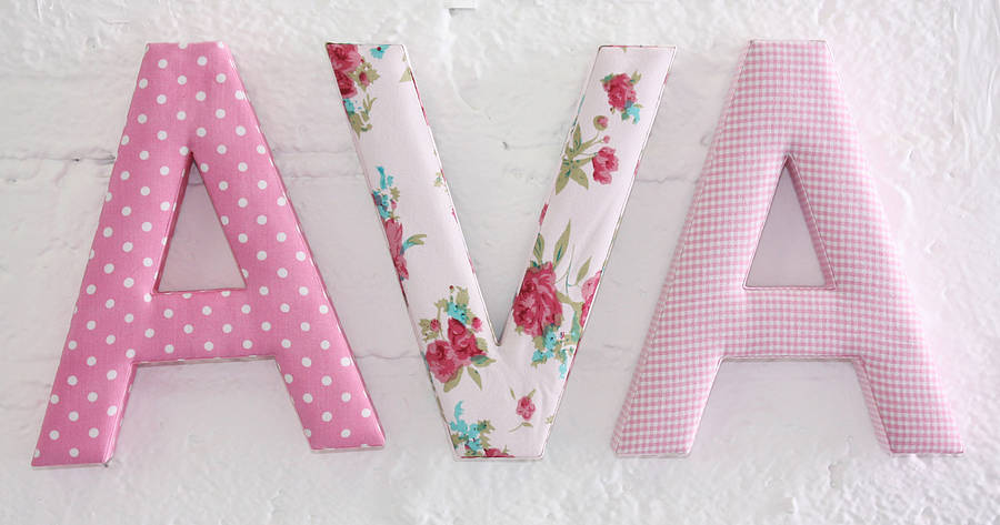 covering wall letters with fabric How to decoupage decoupage—from the french word découper, meaning to cut out—is a craft or art form that entails pasting paper or fabric cut-outs to.