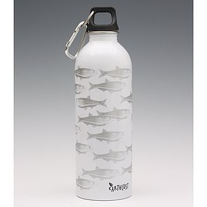 One Litre Stainless Steel Water Bottles - gifts for teenage boys