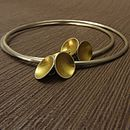 Cup Of Gold Charm Bangle