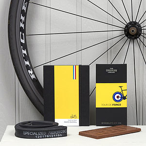 Cyclists Chocolate And Notebook Gift Set - view all gifts for him