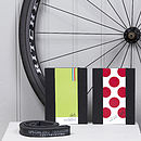 Cyclists Chocolate And Notebook Gift Set